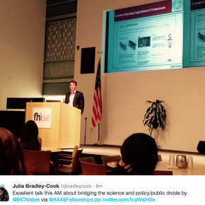 AAAS Science & Technology Fellows Lecture -- Building a Civic Science Culture & Bridging the Public/Policy Divide